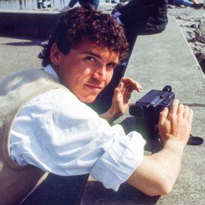 Fotograf Svend Krumnacker 1988 Video-8 Video-Kamera