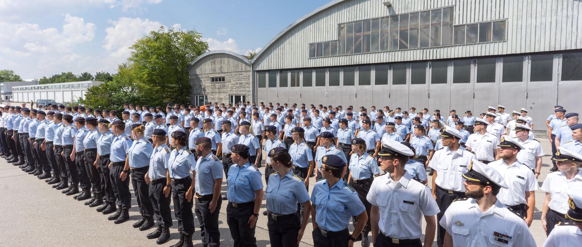 Bundeswehr Beförderung UniBW München Neubiberg