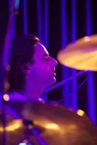 Frank Möckel an den Drums in der Queen-Tribute Band Merqury 2012
