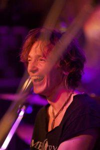 Norbert Munser am Keyboard in der Queen-Tribute Band Merqury 2012