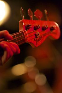 Gitarre der Queen-Tribute Band Merqury 2012