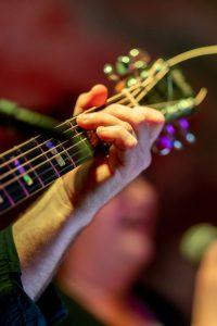 Gitarre von Wulli Wullschläger im Soulhalm Erlangen