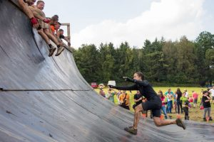"Anlauf Hindernis ""Everest 2.0"" Tough Mudder"