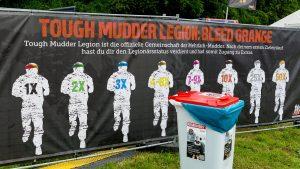 Hinweis Tough Mudder Legion: Bleed Orange