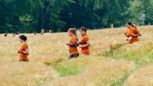 Teilnehmer in den Feldern Tough Mudder