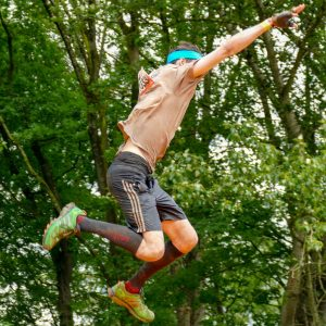 """Tough Mudder Hindernis """"Frequent Flyers Club"""""""
