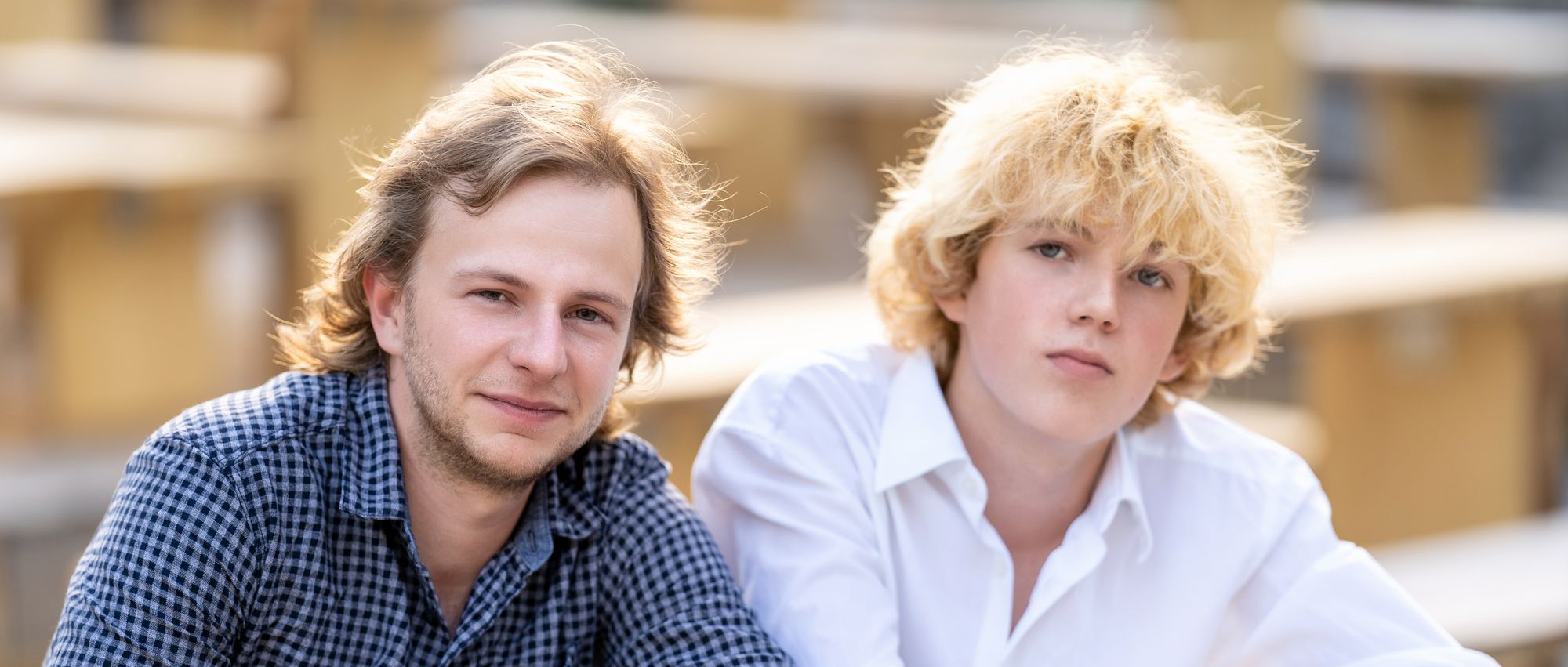 Portraitfotos von Max & Leo