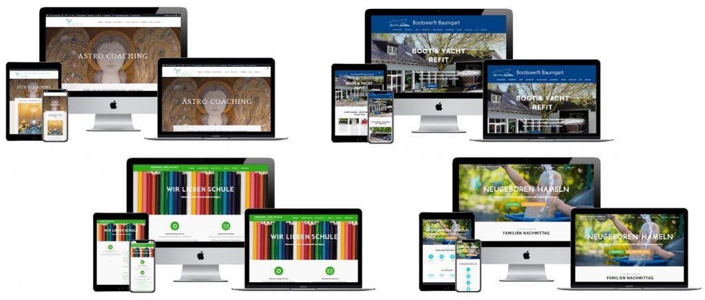 Kunden Webseiten Internet Fotograf
